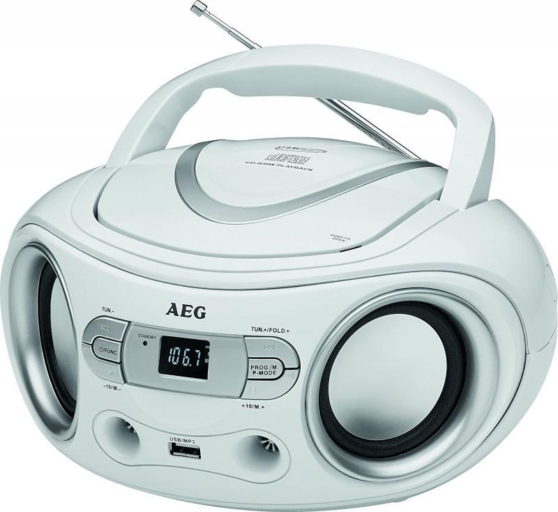 Магнитола AEG SR 4374 weiss от OLDI