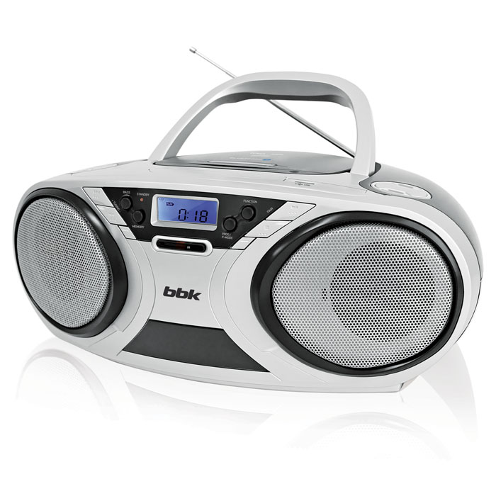 Аудиомагнитола BBK BX516BT CD MP3 черный