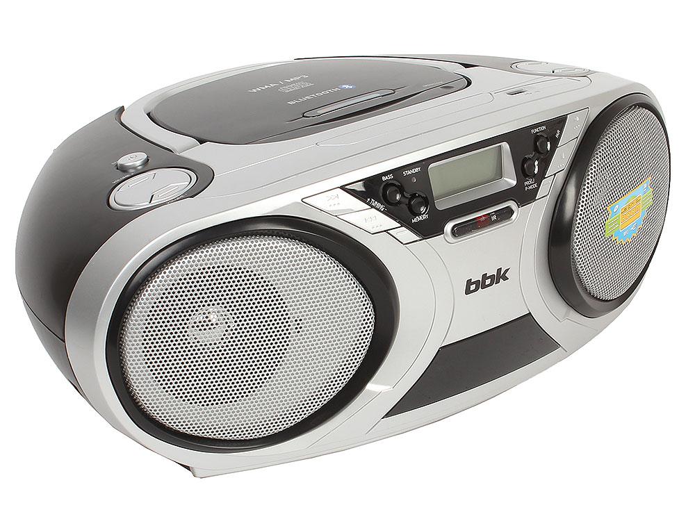 Аудиомагнитола BBK BX516BT CD MP3 черный аудиомагнитола bbk bx900bt черный bx900bt