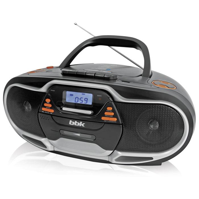 Аудиомагнитола BBK BX518BT черная