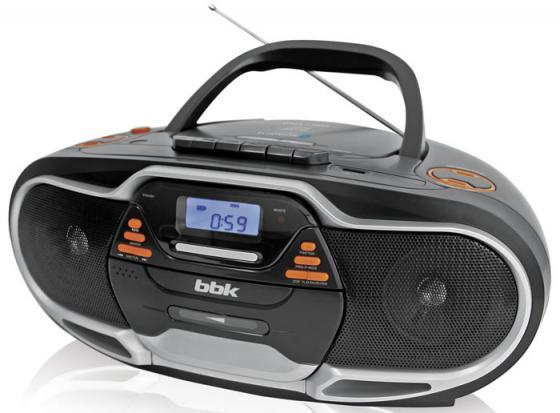 Аудиомагнитола BBK BX518BT черный/серебристый аудиомагнитола spl sp 154x черный [000030928]
