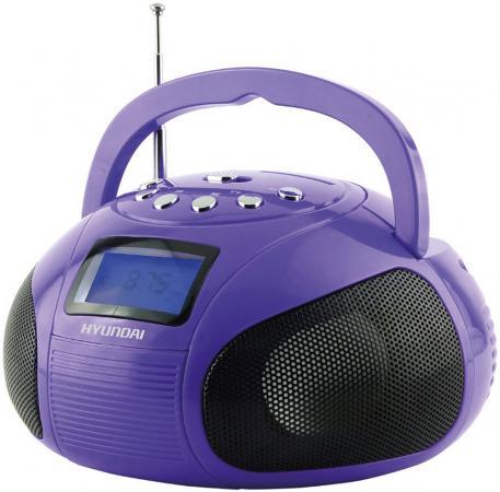 Магнитола Hyundai H-PAS100 фиолетовый