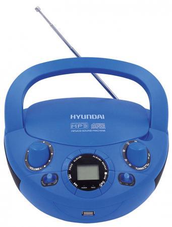 Магнитола Hyundai -PCD220 синий
