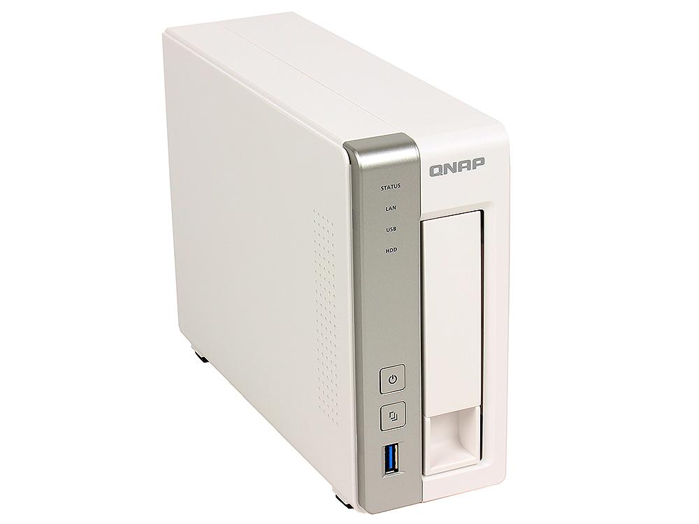 Сетевой накопитель QNAP TS-131 Сетевой RAID-накопитель, 1 отсек для HDD от OLDI