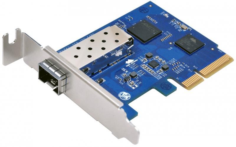 Адаптер Synology E10G15-F1 адаптер synology e10g17 f2