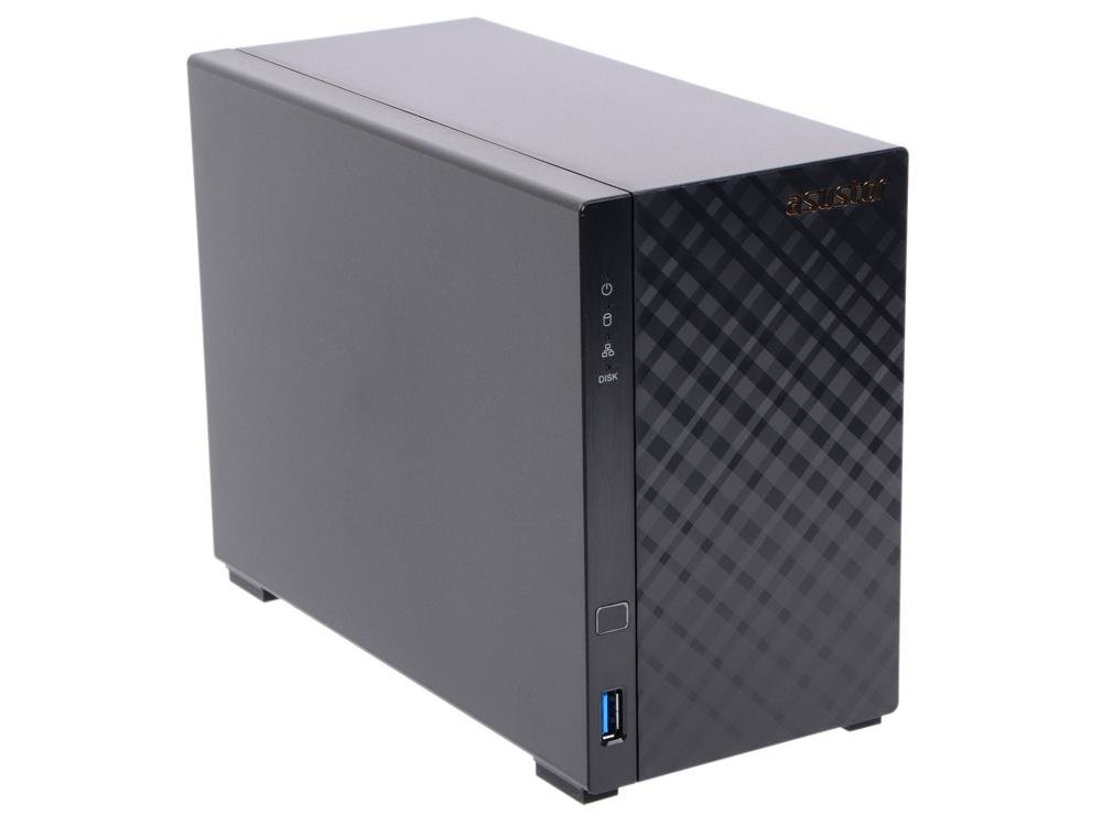 Сетевое хранилище Asustor AS-3102T 2 отсека NAS Celeron 2.16GHz 2Gb DDR3 SATAll SATAIII SSD 3xUSB3.0 k73sd for asus x73e k73e k73sj k73sd laptop motherboard gt540m 1g rev 2 3 pga989 hm65 ddr3 mainboard free shipping