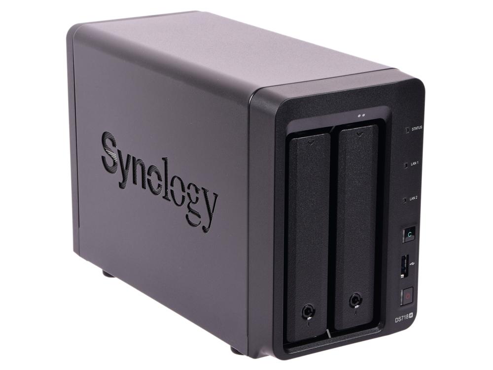 Сетевой накопитель Synology DS718+ сетевой накопитель nas synology ds1517 ds1517