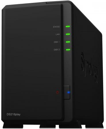 Сетевой накопитель Synology DS218play 2x2.5