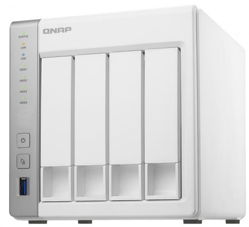 Сетевое хранилище QNAP TS-431P2-4G Сетевой RAID-накопитель, 4 отсека для HDD. ARM Cortex-A15 Annapurna Labs AL-314 1,7 ГГц, 4 ГБ.