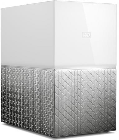 Сетевое хранилище Western Digital My Cloud Home Duo 2x3,5 WDBMUT0040JWT-EESN