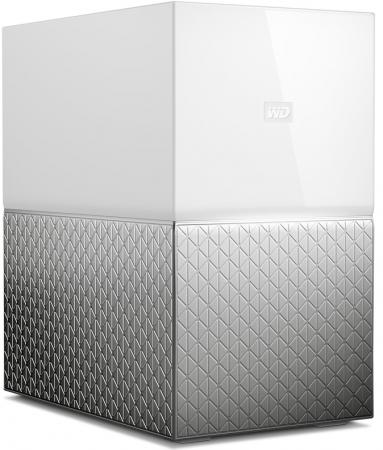 Сетевое хранилище Western Digital My Cloud Home Duo 2x3,5 WDBMUT0080JWT-EESN