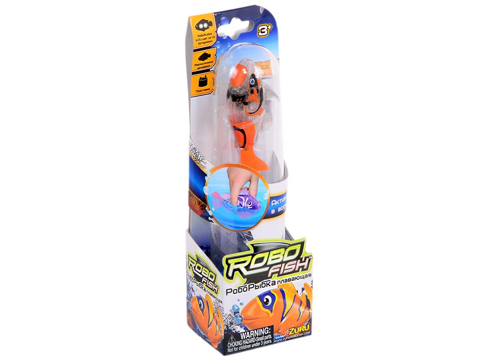 Интерактивная игрушка ZURU Robofish Тропическая РобоРыбка акула от 3 лет серый 2549-8