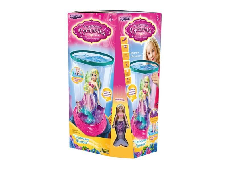 Интерактивная игрушка ZURU Подводное царство от 3 лет разноцветный Русалочка Марина 2591