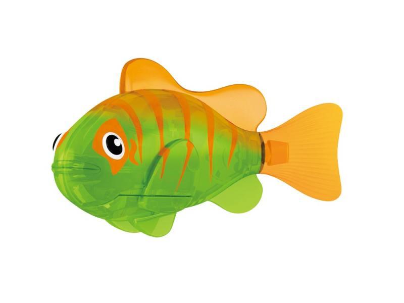 Интерактивная игрушка ZURU РобоРыбка Гловер от 3 лет зелёный 2541В zuru zuru роборыбка на дистанционном управлении