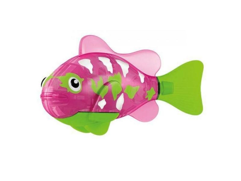 Интерактивная игрушка ZURU Тропическая РобоРыбка Собачка от 3 лет розовый 2549-2