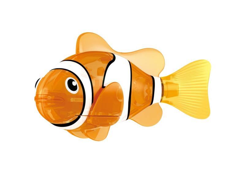 Интерактивная игрушка ZURU РобоРыбка Красная Cирена от 3 лет оранжевый 2541С zuru zuru роборыбка на дистанционном управлении