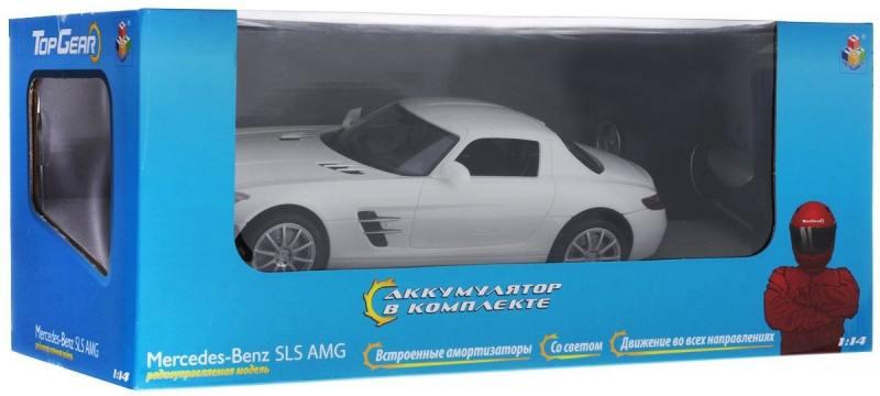 Машинка на радиоуправлении Top Gear Mercedes Benz SLS от 3 лет пластик Т56691