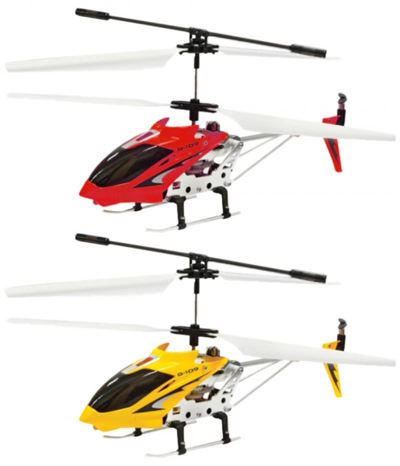 Вертолёт на радиоуправлении 1TOY GYRO-109 от 8 лет металл игрушка 1toy gyro 109 вертолет с гироскопом т52819