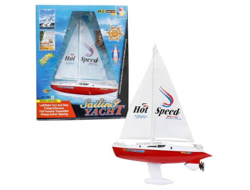 Яхта с парусом Тилибом 8887856585309 белый от 7 лет пластик