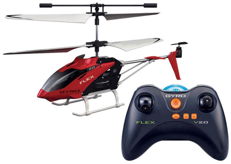 Квадрокоптер на радиоуправлении 1toy GYRO-Flex красный от 14 лет пластик игрушка 1toy gyro flex вертолет с гироскопом т57269