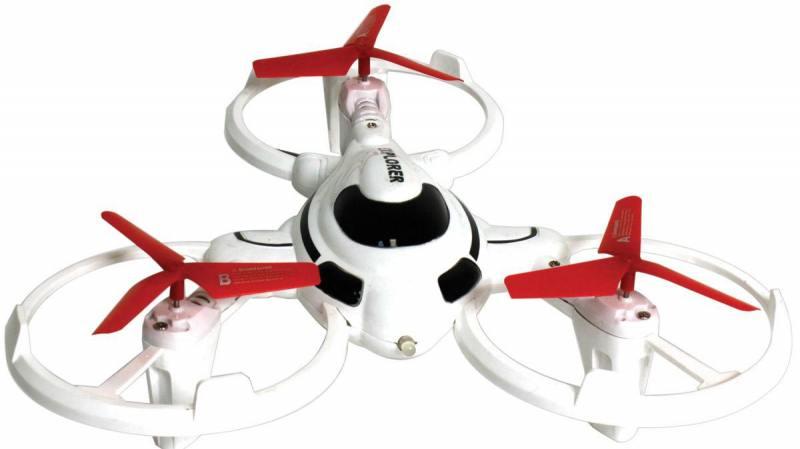 Трикоптер 1toy Т58988 белый от 5 лет пластик 1toy трикоптер gyro explorer