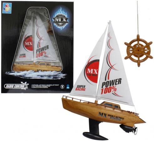 Лодка парусная на радиоуправлении Тилибом 39 см Т58537