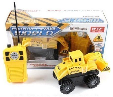 Машинка на радиоуправлении Shantou Gepai Стройка желтый от 6 лет пластик 911-B самосвал shantou gepai самосвал желтый от 6 лет пластик a1004