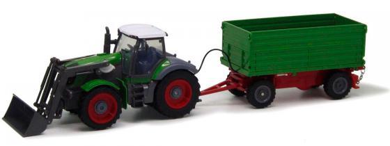 Трактор с ковшом Пламенный Мотор зелёный от 6 лет пластик  87573