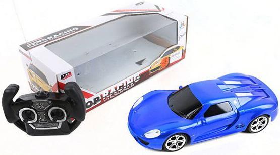 Машинка на радиоуправлении Shantou Gepai Top Racing синий от 3 лет пластик, металл 388-10E