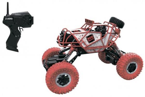 1toy Драйв, раллийная машина бигвил на р/у, 2,4GHz, 4WD, масштаб 1:43, скорость до 14км/ч, курковый 8887856109468 1toy раллийная машина на р у 1toy драйв 1 18 серая