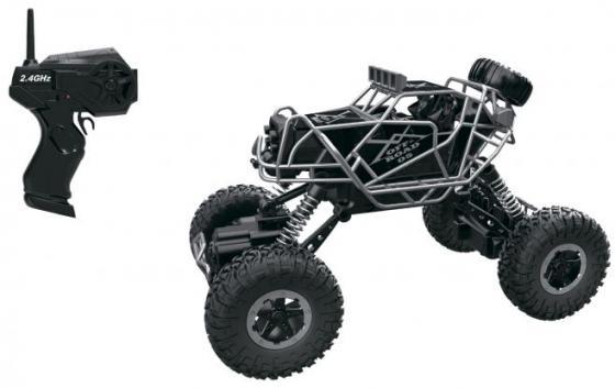 1toy Драйв, раллийная машина бигвил на р/у, 2,4GHz, 4WD, масштаб 1:43, скорость до 14км/ч, курковый 8887856109482 1toy раллийная машина на р у