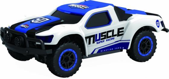 1toy Драйв, раллийная машина на р/у, 2,4GHz, 4WD, масштаб 1:43, скорость до 14км/ч, курковый пульт, 8887856109413 1toy раллийная машина на р у 1toy драйв 1 18 серая