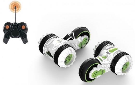 1toy Драйв, трюковая трёхколёсная машина-перевёртыш на р/у, 27MHz, вращение на 360°, со светом, c АК машинки и мотоциклы 1toy машинка р у 1тoy hot wheels н68 со светом чёрная