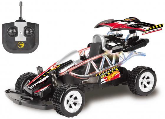 Hot Wheels машинка багги на р/у, масштаб 1:20, со светом, на батарейках (не включены), чёрная 1toy hot wheels багги на р у 1 18 со светом синяя т10977
