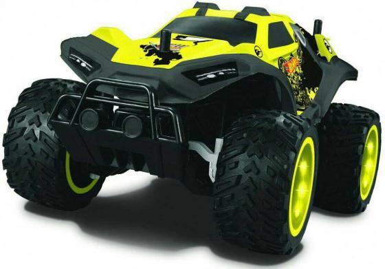 Hot Wheels багги бигвил на р/у, со светом, мягкий съёмный корпус, защита от влаги, скорость 8км/ч, с 8887856109826 1toy hot wheels багги на р у 1 18 со светом синяя т10977