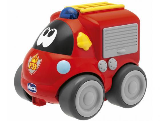 Пожарная машина  радиоуправлении Chicco   красный от 1 года пластик 69025