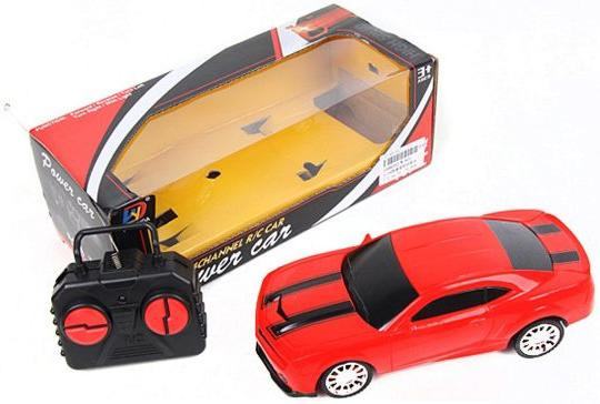 Машинка на радиоуправлении Shantou Gepai Power Car, 4 канала красный от 3 лет пластик W-820 автомобиль на радиоуправлении noname dl0031129 4 канала на батарейках красный