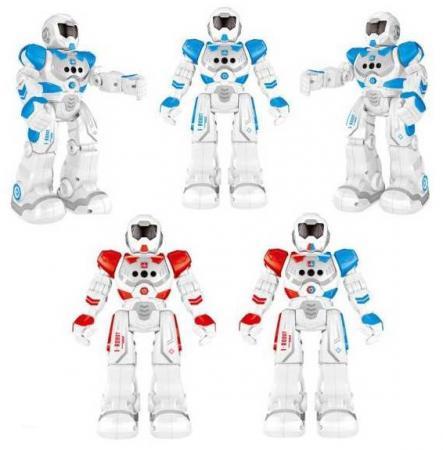 Робот на радиоуправлении Shantou Gepai Робот белый от 3 лет пластик, металл робот на радиоуправлении shantou gepai бласт пластик металл от 3 лет серый