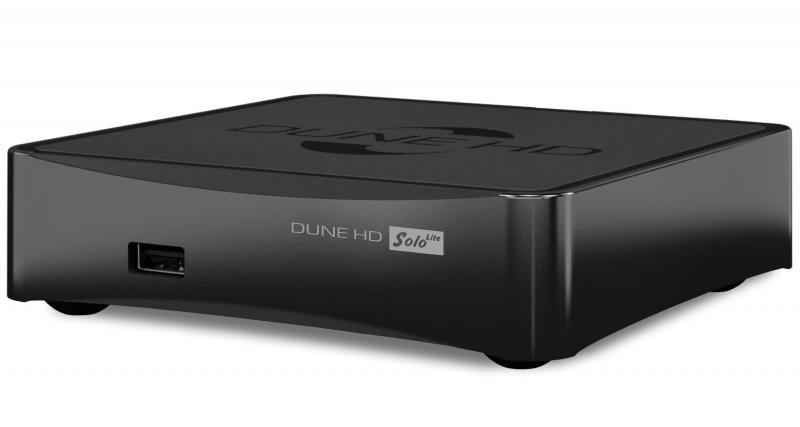 Медиаплеер DUNE HD Solo Lite