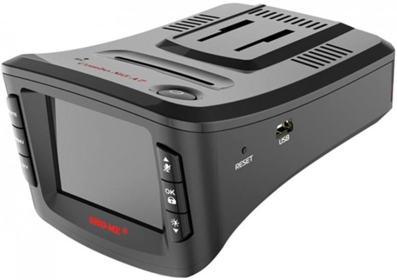 Видеорегистратор с радар-детектором Sho-Me Combo №5-А7 видеорегистратор sho me combo 5 a7