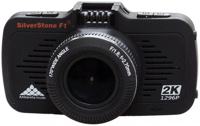 Видеорегистратор Silverstone F1 A-70 GPS 2.7 2560x1080 1.3Mp 170° microSD microSDXC датчик движения