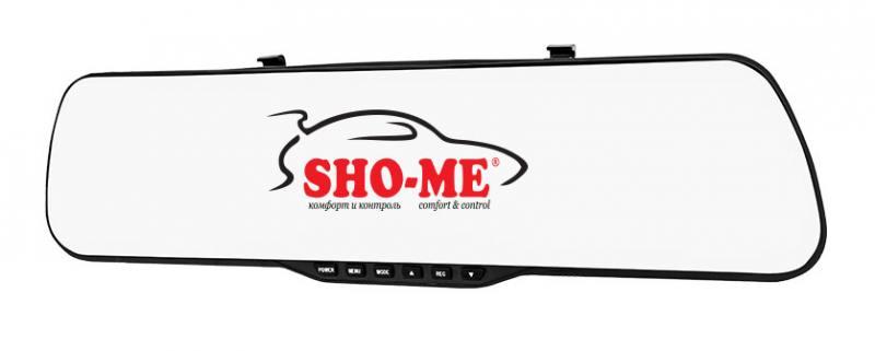 Видеорегистратор Sho-Me SFHD 400 4.3 1920x1080 3Mp 120° G-сенсор microSD microSDHC