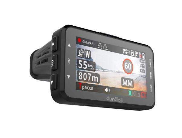 Видеорегистратор с радар-детектором GPS Dunobil assist FHYDBK9