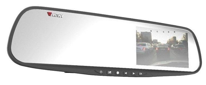 Видеорегистратор-зеркало Artway AV-602 4.3/120°/1920x1080/ФУНКЦИЯ SOS - защита файла от перезаписи горячей кнопкой видеорегистратор artway av 711 av 711