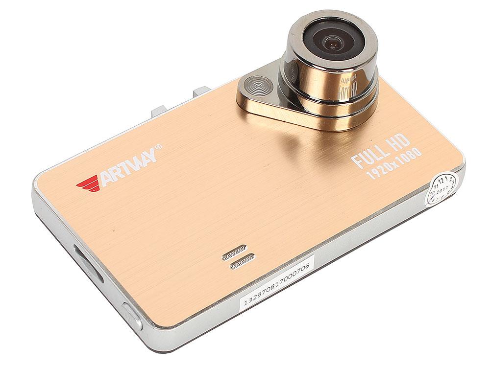 Видеорегистратор Artway AV-112 120°/1920x1080/G-сенсор/microSD (microSDHC) до 32 Гб видеорегистратор artway av 711 av 711