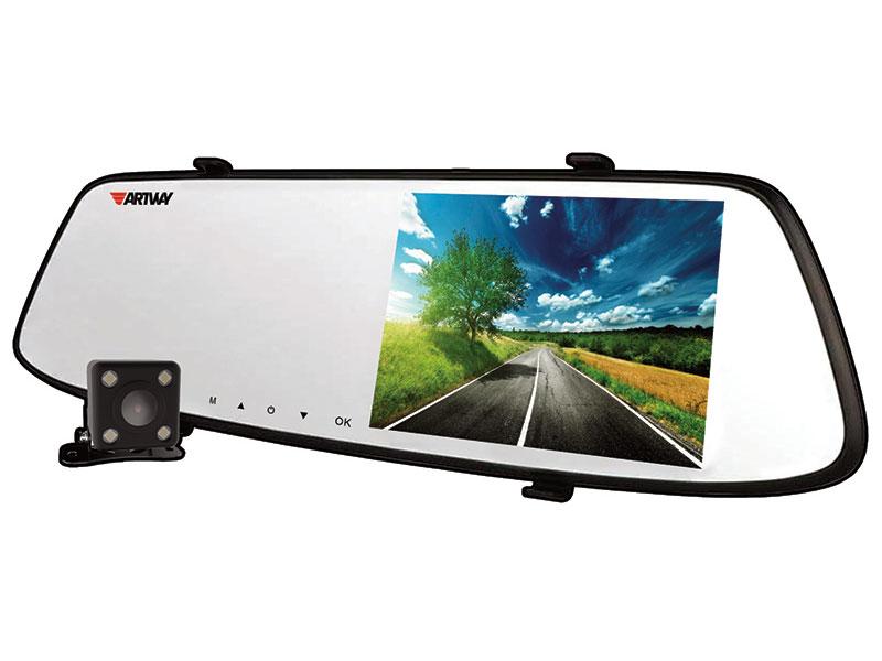 Видеорегистратор Artway AV-604 3 в 1 (2 камеры, ParkAssist, Super HD)