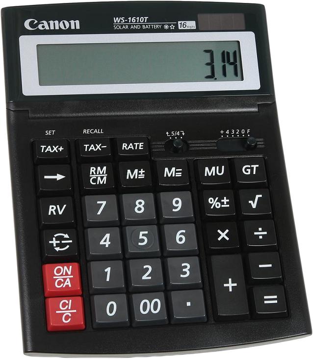 Canon WS-1610 T кальк.наст.16 разр.2-ое пит.поворотный дисплей,GT от OLDI