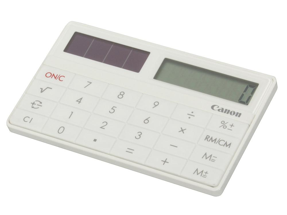 цены Canon X-MARK I CARD WH кальк.карманный,премиум класс белый,8 разр