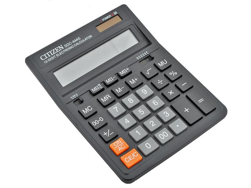 Калькулятор Citizen citSDC-444S 12 разрядов от OLDI