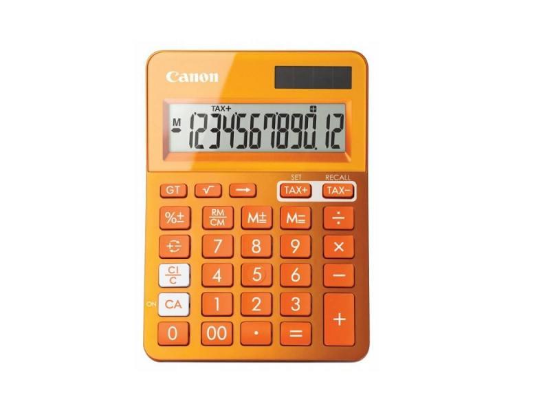 Калькулятор Canon LS-123K-MOR 12 разрядов оранжевый